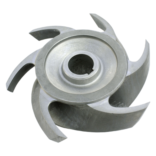 L&M Spare part Impeller Z-6 suitable for the Andritz S Series