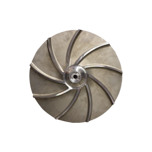 L&M Spare part Impeller, open suitable for the Sulzer NPP Series